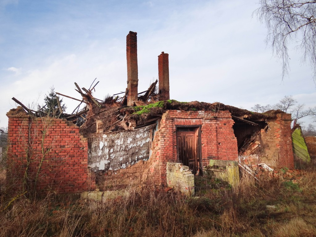 2Często spotykane ruiny domów na Kujawach-2