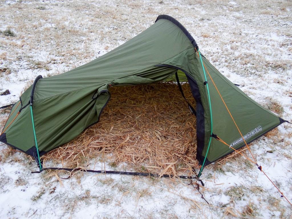 4Mój namiot wyściełany trawą_